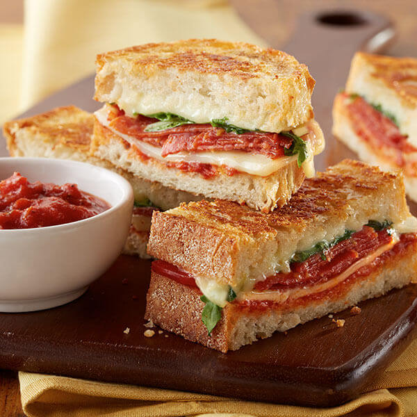 Grilled Cheese Pizza Sandwich Recipe Land O Lakes