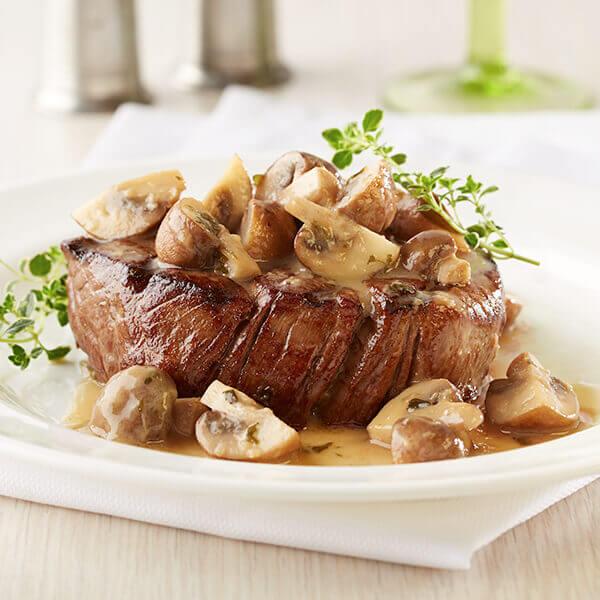 Grilled Mushrooms for Steak