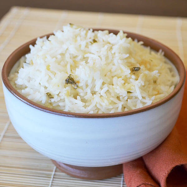 Garlic & Herb Rice Image