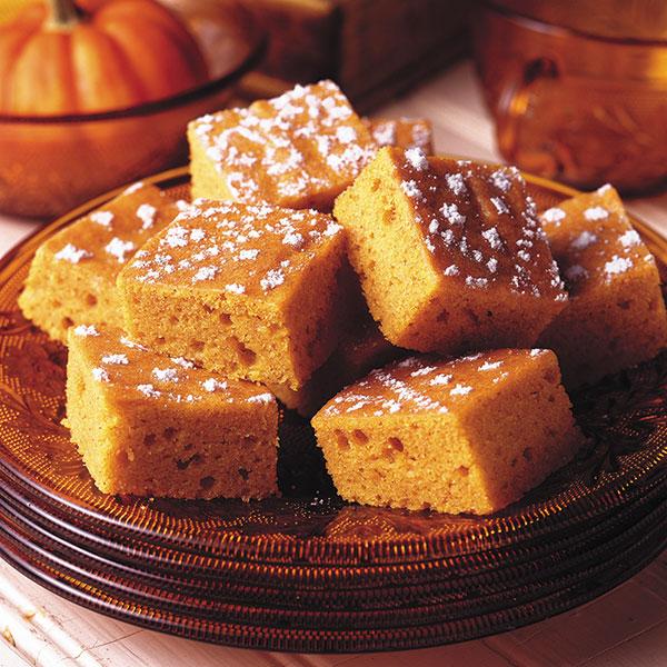 Harvest Pumpkin Bars Image