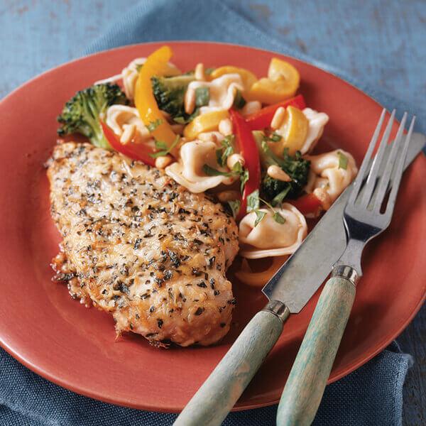 Parmesan Herb Chicken Recipe