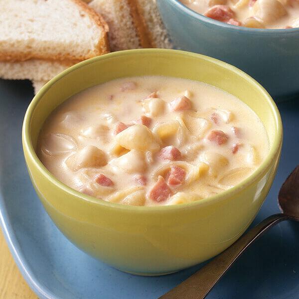 Ham, Mac & Cheese Soup Image