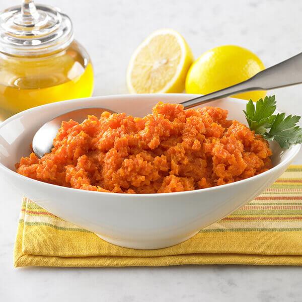 Honey Mashed Carrots