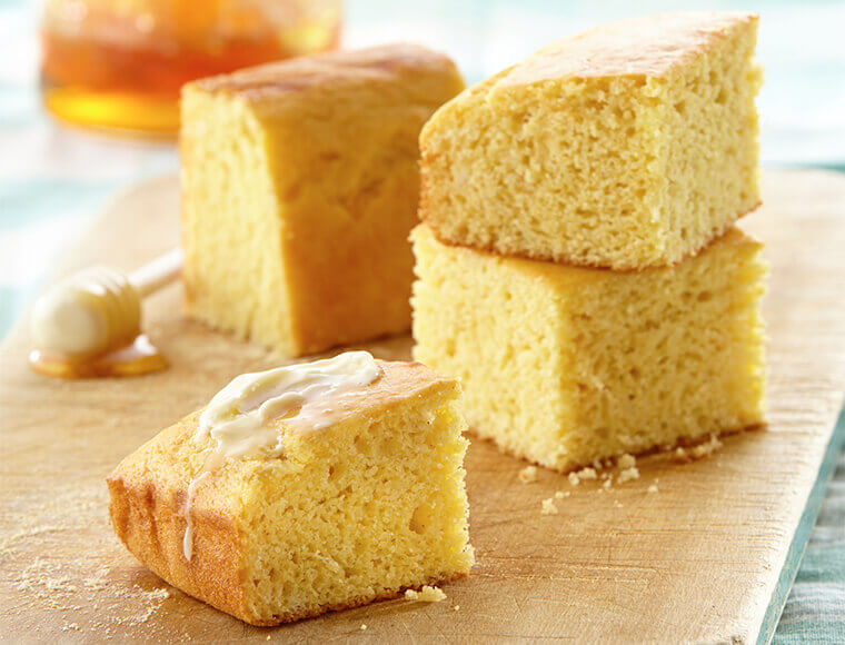 Honey Moist Cornbread Recipe | Land O'Lakes