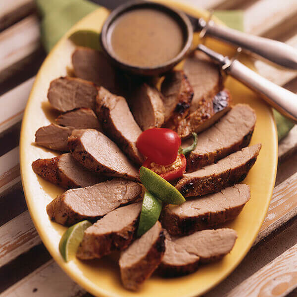 Honey Lime Marinated Pork Tenderloin Recipe