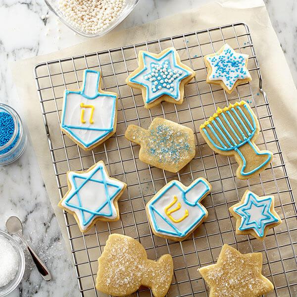 Honey Hanukkah Cut-Out Cookies Recipe