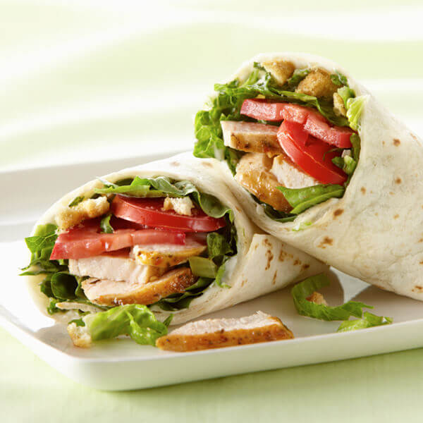 Italian Chicken Wraps Recipe Land O Lakes