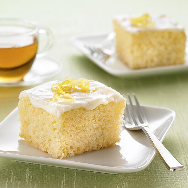 Lemon Snack Cake Recipe Land O Lakes