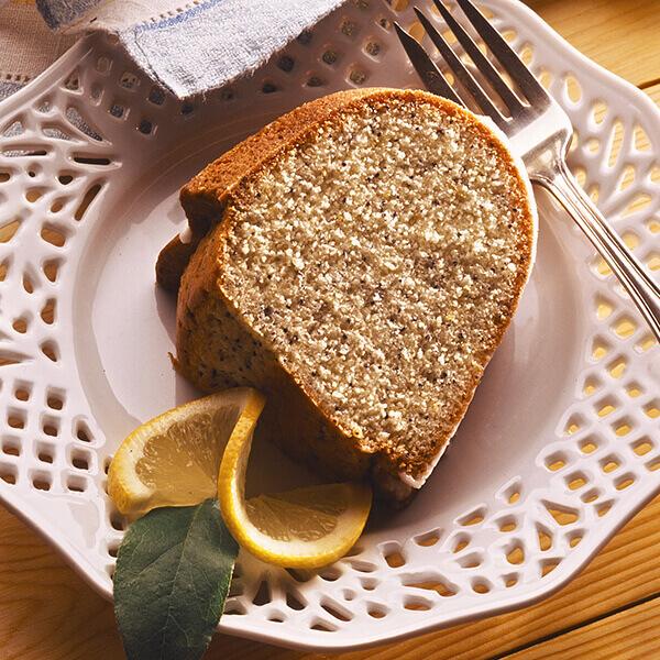 Lemon Poppy Seed Pound Cake Recipe