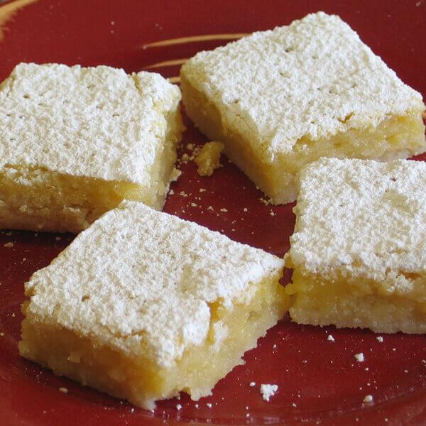 Lemon Butter Bars  (Gluten-Free Recipe) Image