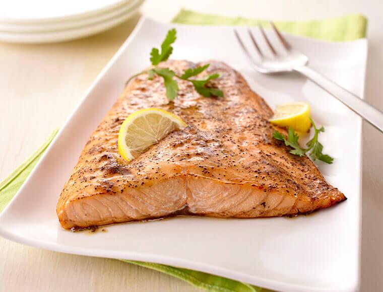 Lemon Pepper Salmon Recipe | Land O'Lakes