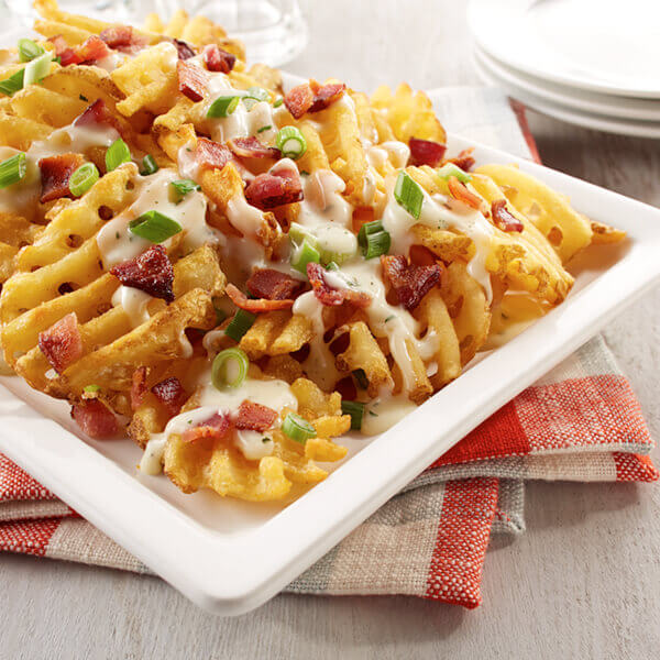 Loaded Baked Potato Cheese Fries Image