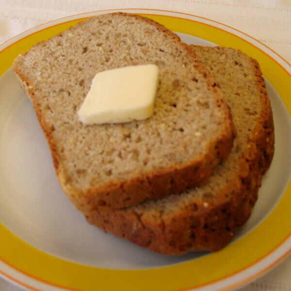 Multi-Grain Bread (Gluten-Free Recipe) Image