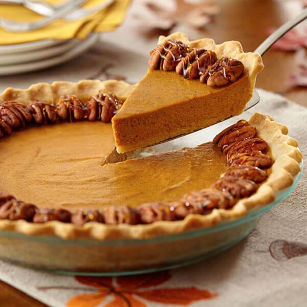 Maple Pecan Pumpkin Pie Recipe Land O Lakes