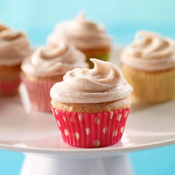 Mini Cinnamon Cupcake Recipes