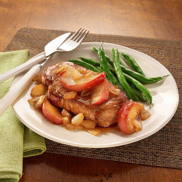 Maple Apple Pork Chops Image