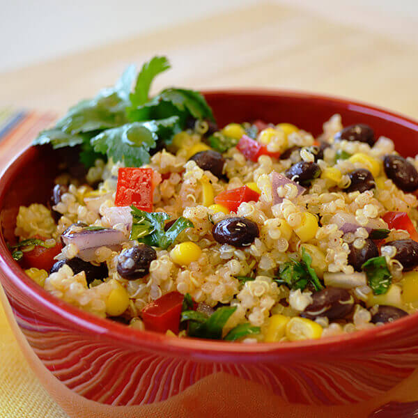 Mexican Quinoa Salad Recipe Land O Lakes
