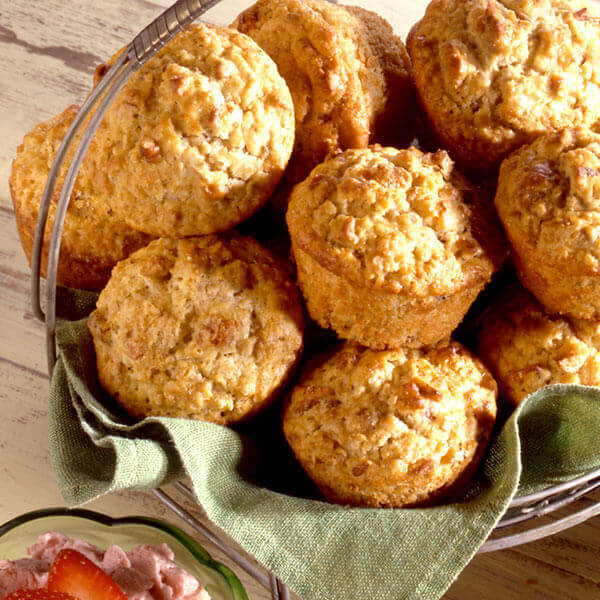 Oatmeal Pecan Muffins Image