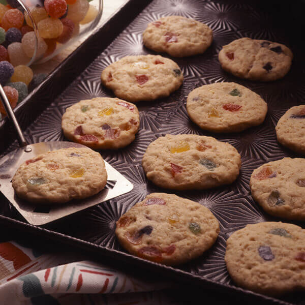 Oatmeal Gumdrop Cookies Recipe