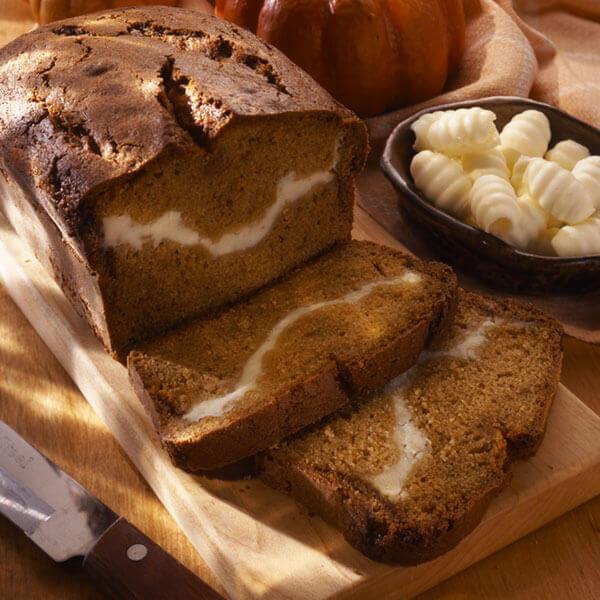 Pumpkin Swirl Bread Image