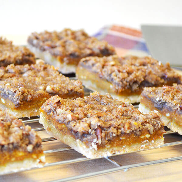 Pumpkin Cookie Bars Recipe