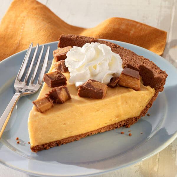 Peanut Butter Mousse Pie Image
