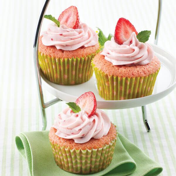 Strawberry Cupcake Recipes