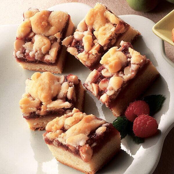 Raspberry White Chocolate Bars Image