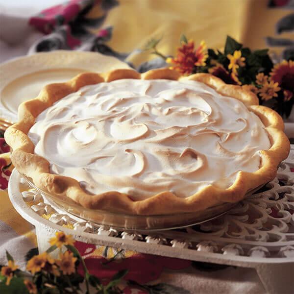 Raisin Cream Pie Image