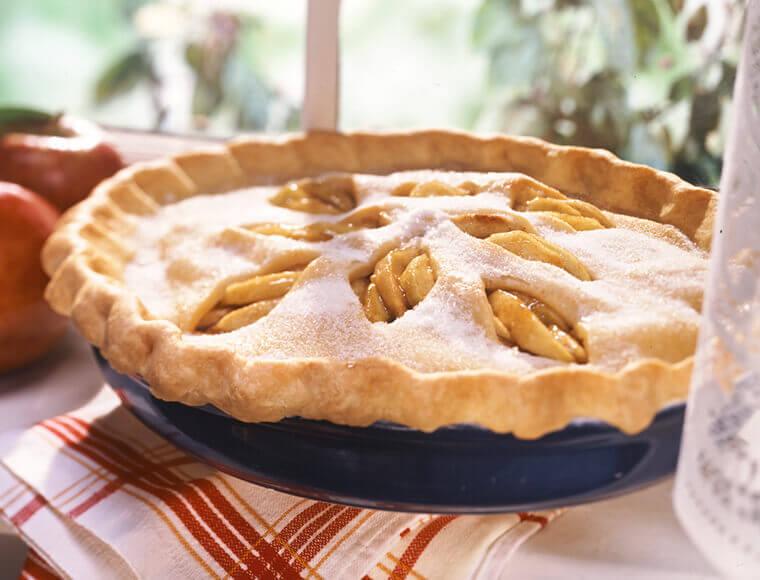 Sugar Crusted Apple Pie Recipe Land O Lakes