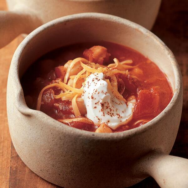 Sweet 'N Spicy Garbanzo Bean Chili Image