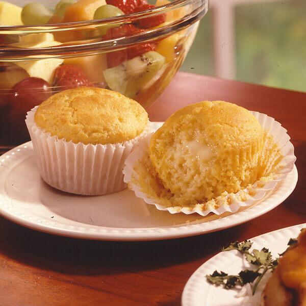Sour Cream Cornbread Muffins Image