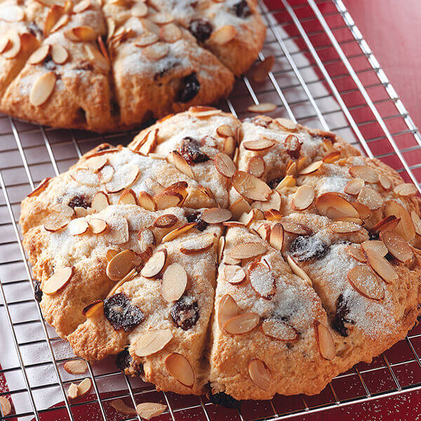 Sour Cream Cherry Scones Image