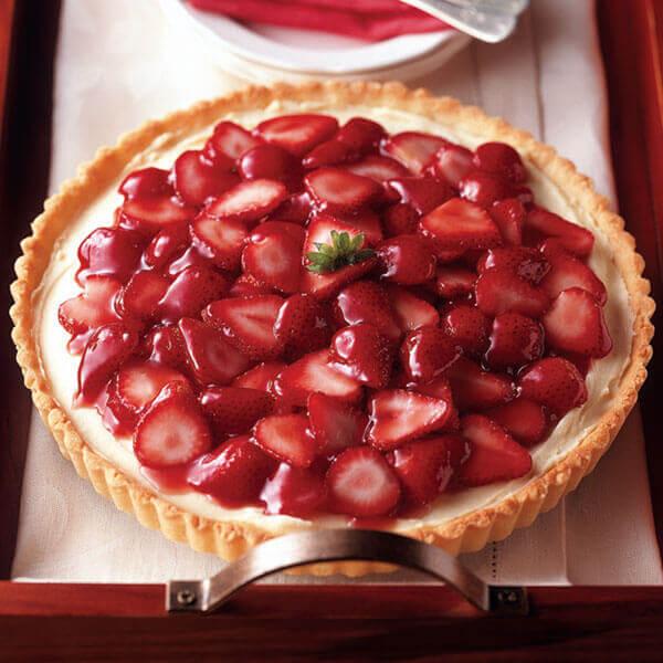 Strawberry Cheesecake Tart Image