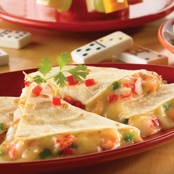 Seafood Quesadillas Image