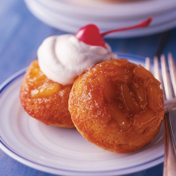 Mini Pineapple Ginger Upside-Down Cakes recipe