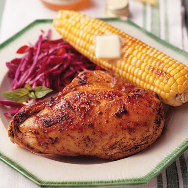 Sweet & Zesty Kansas Barbecued Chicken Image