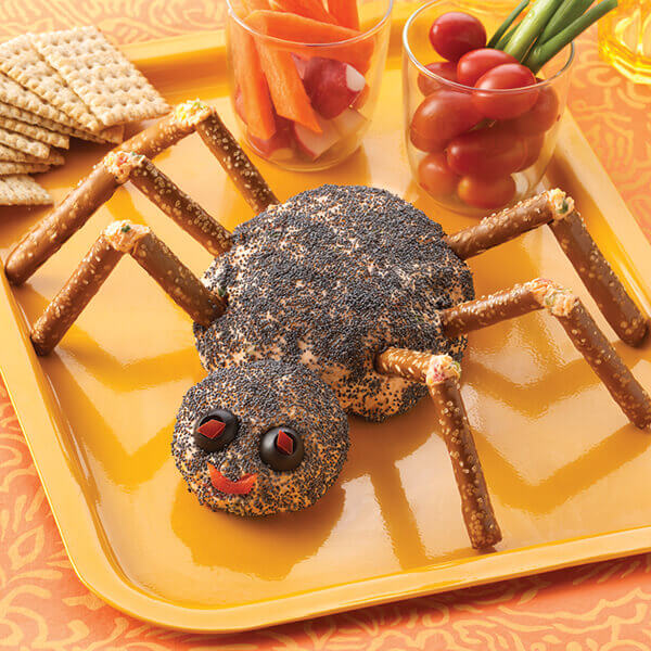 Spider Cheese Ball Image