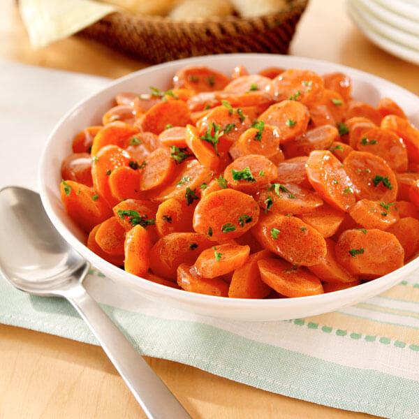 Cinnamon-Glazed Carrots recipe