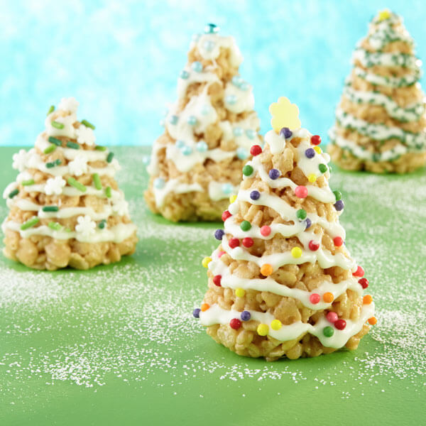 Cookie Butter Christmas Trees recipe