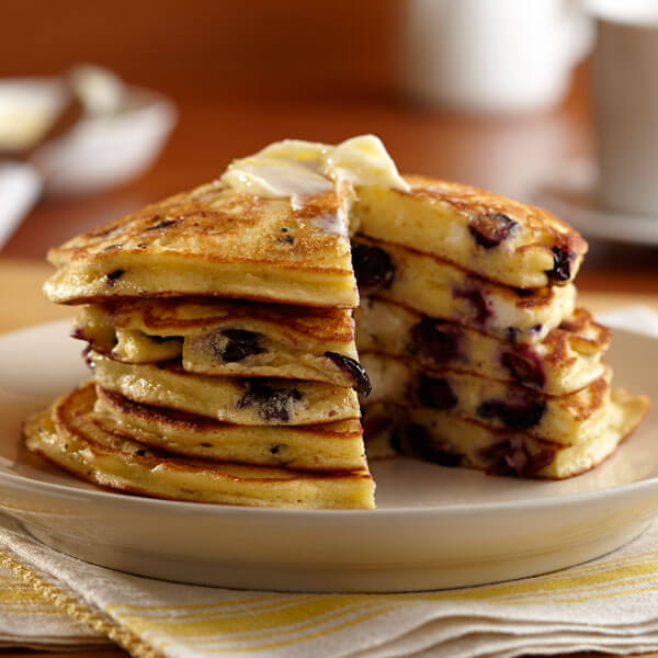 Blueberry Cheesecake Pancakes recipe