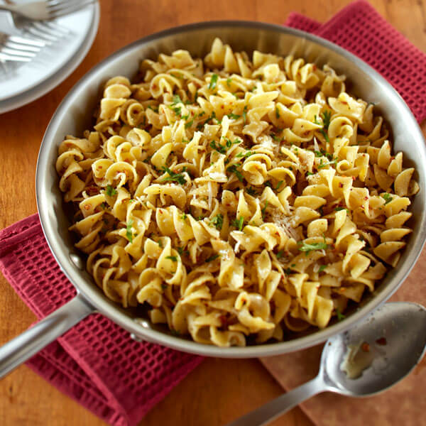 Browned Butter Garlic Noodles recipe