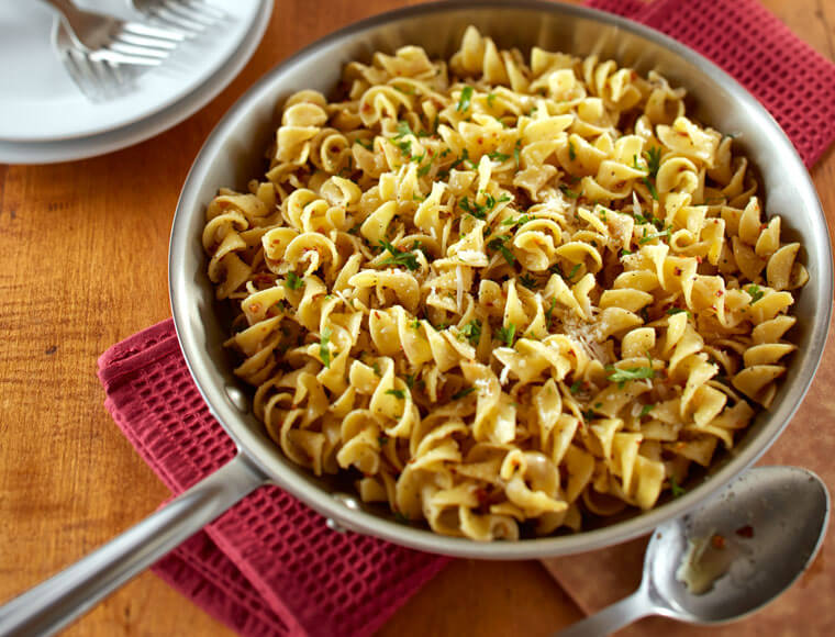 Browned Butter Garlic Noodles Recipe Land O Lakes