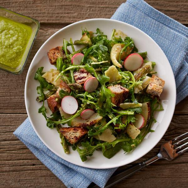 Roasted Spring Vegetable Salad recipe