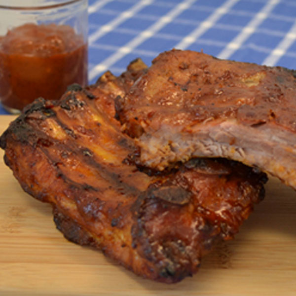 Best Ever Baby Back Ribs with BBQ Sauce recipe