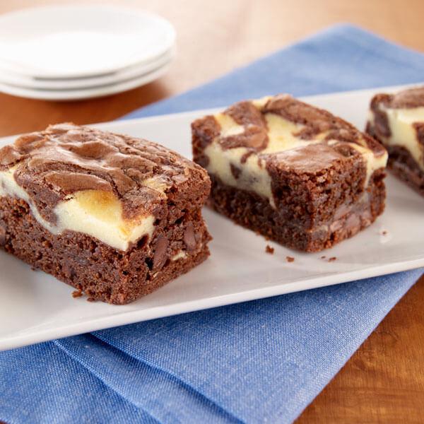 Double Fudge Cream Cheese Brownies recipe