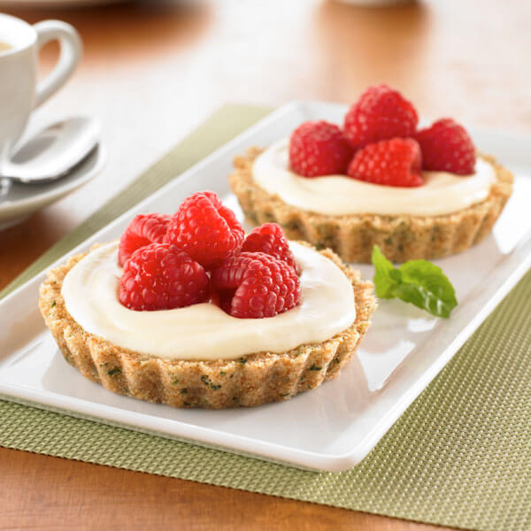 Lemon Raspberry Tarts Image
