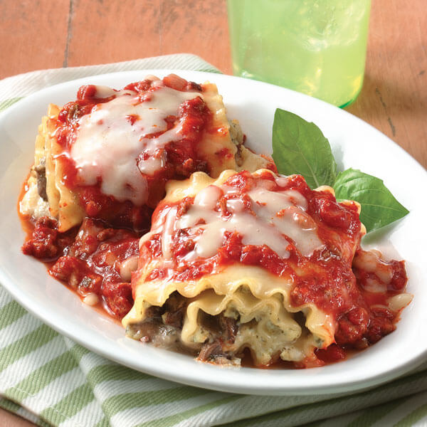 Pesto Lasagna Roll-Ups recipe