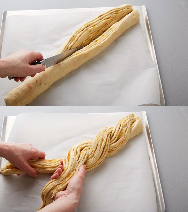 Twisting Dough