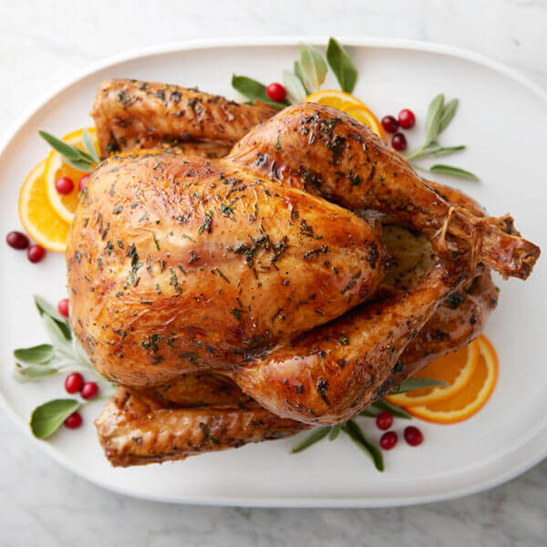 Butter Herb Roasted Turkey Recipe Land O Lakes